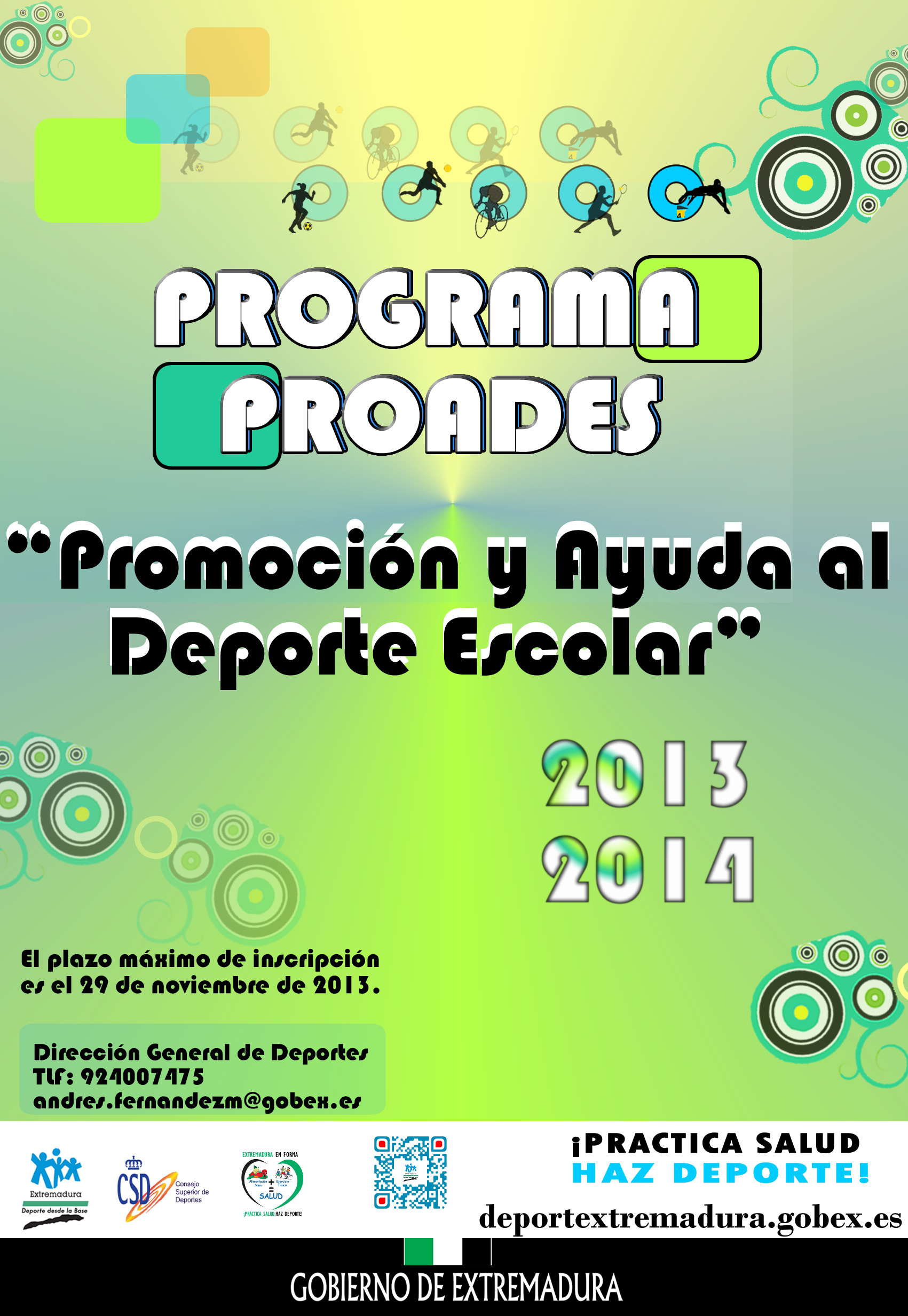 Proades 2014 DGD Extremadura