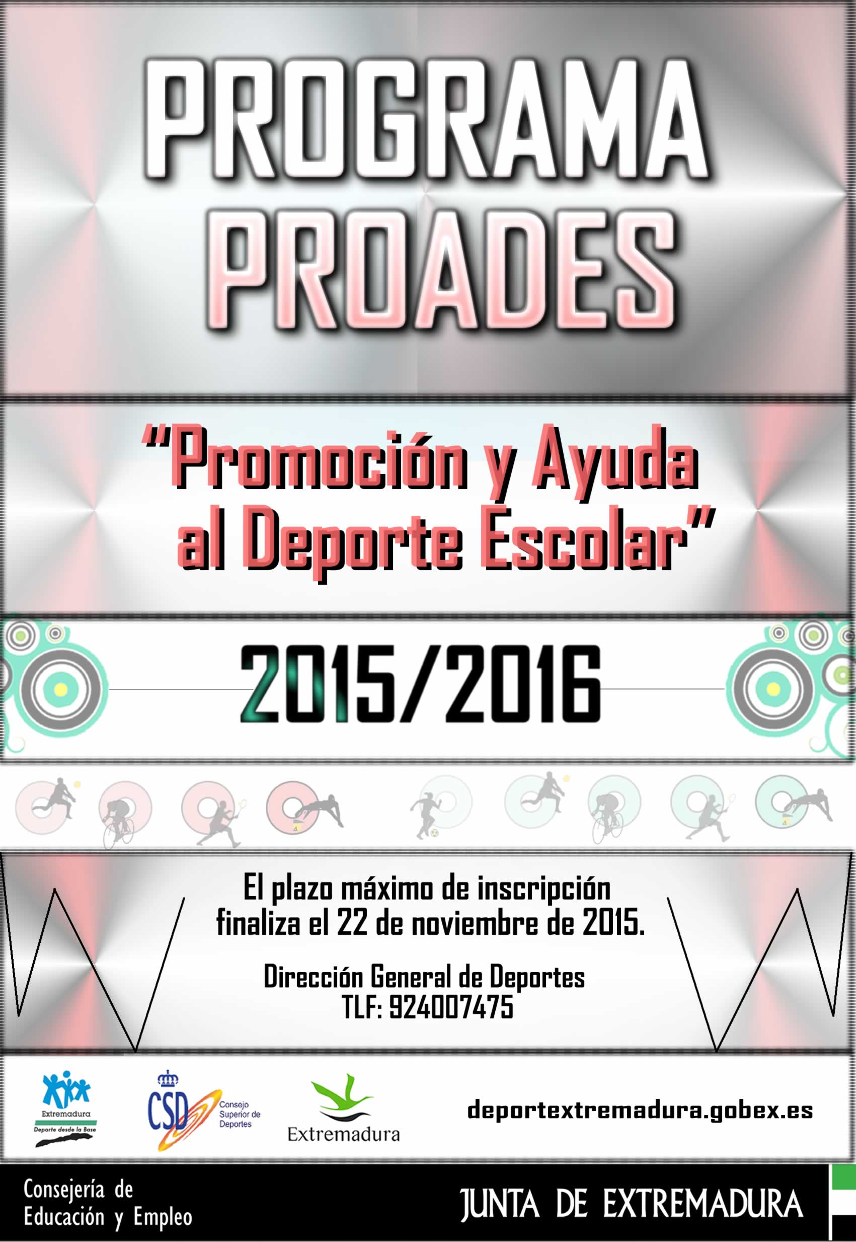 Proades 2016 DGD Extremadura